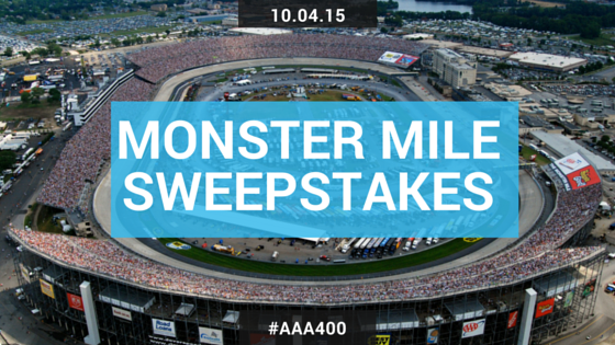Monster Mile Sweepstakes
