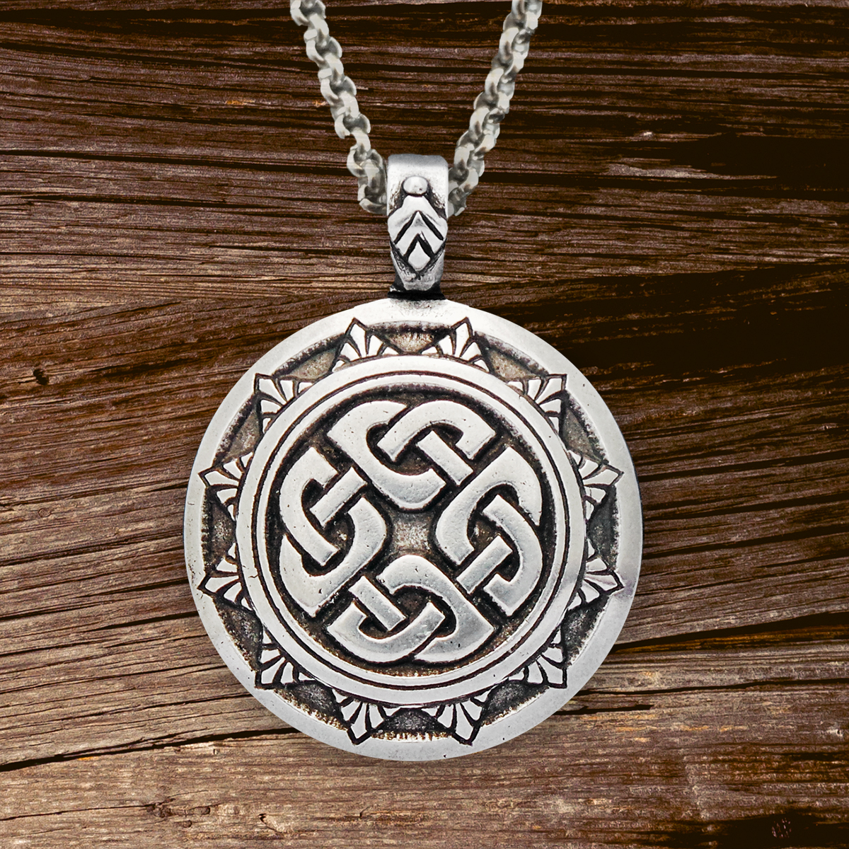 Celtic Knot Works - Celtic Traditions Shield Knot Pendant  Giveaway!