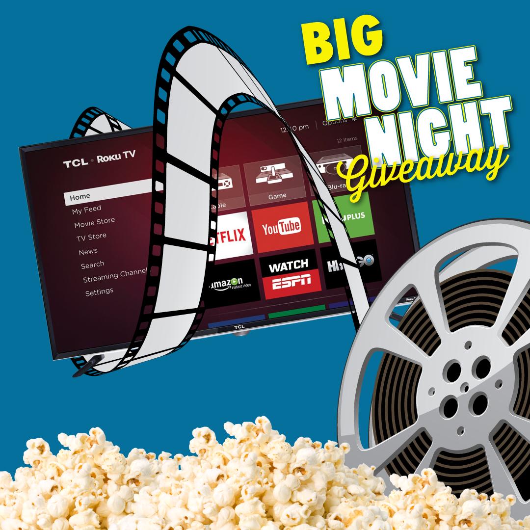 Big Movie Night Giveaway!