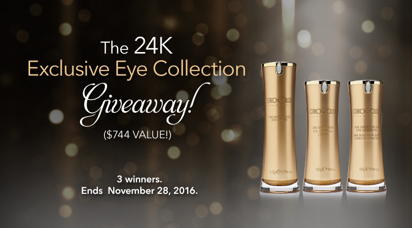 24K Exclusive Eye Set ($744 value)