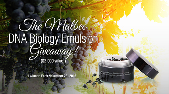Malbec DNA Biology Emulsion Capsules ($2,000 value)
