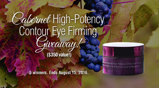 Cabernet High-Potency Contour Eye Firming ($350 value)