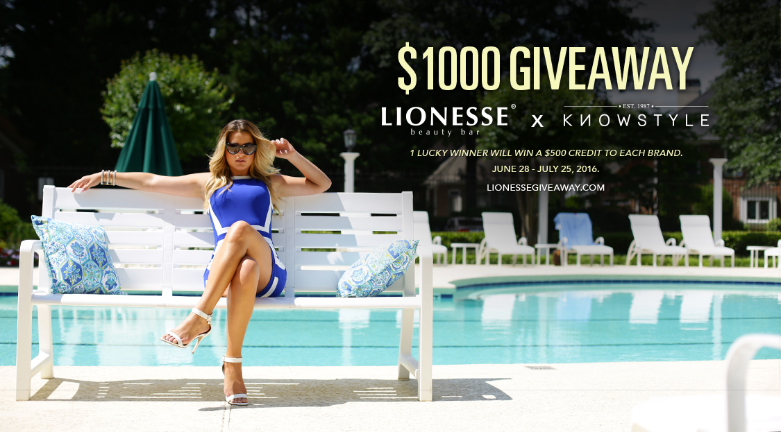 Win a total of $1000 in credit to Lionesse