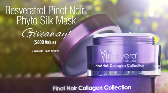 Resveratrol Pinot Noir Phyto Silk Mask ($800 Value!)