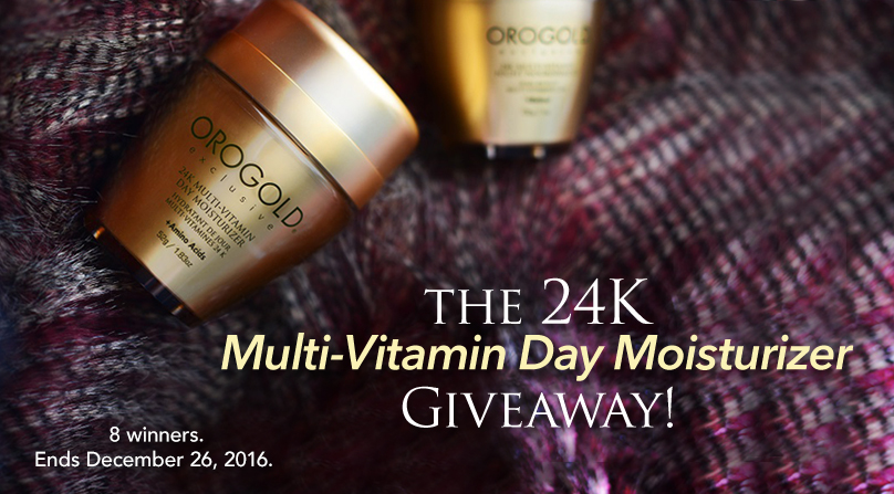 24K Multi-Vitamin Day Moisturizer ($178 value)