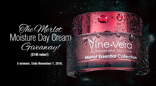 Merlot Moisture Day Cream ($146 value)