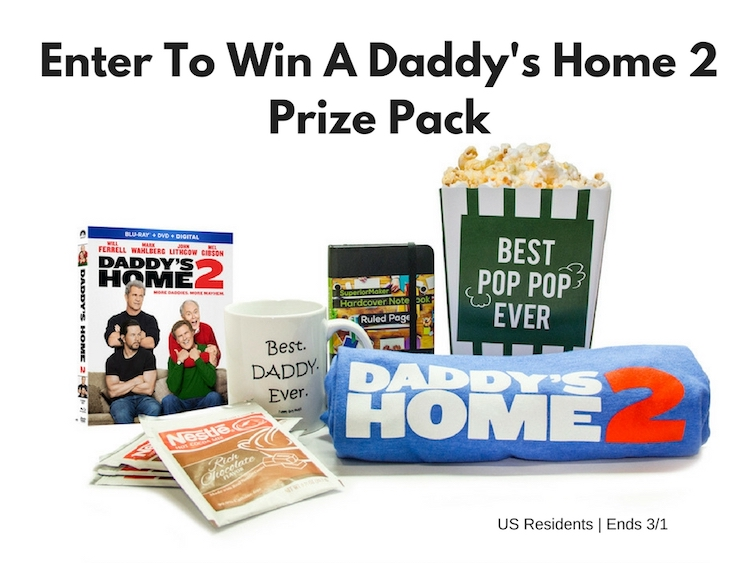 Daddy's Home 2 Prize Pack