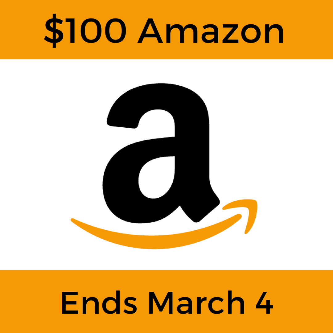 $100 Amazon.com eGift Card Giveaway