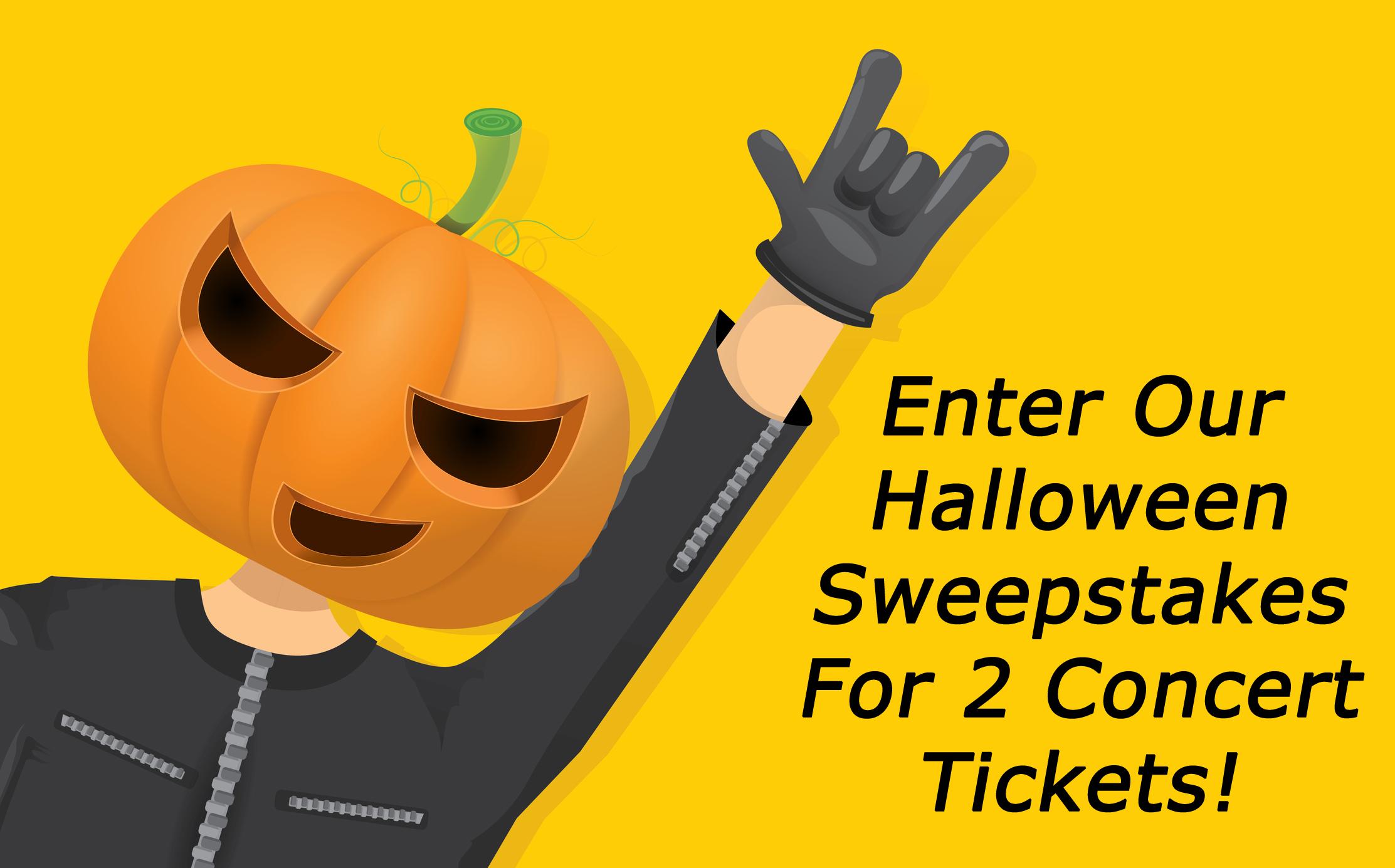 Rock.com Worldwide Concert Tickets Giveaway, Winner Chosen on Halloween at Midnight!