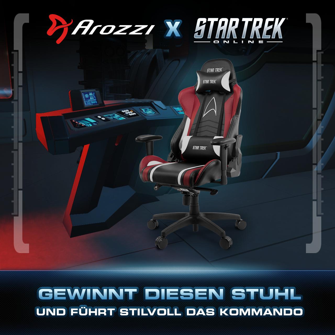Star Trek Online Verschenkt Zusammen Mit Arozzi Einen Besonderen Star-trek-stuhl
