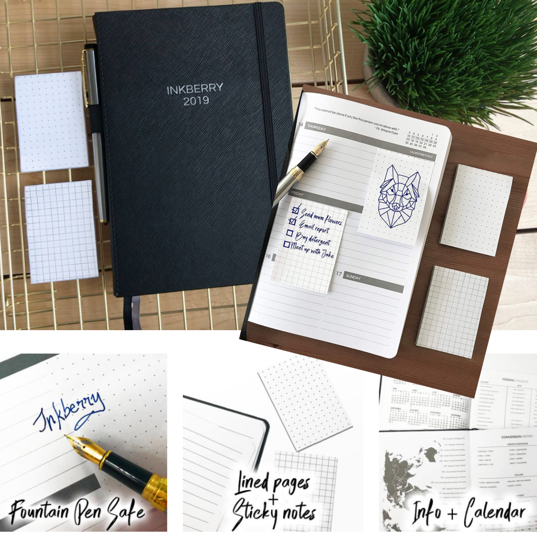 Enter for a chance to win an Elegant Inkberry Planner Giveaway Image