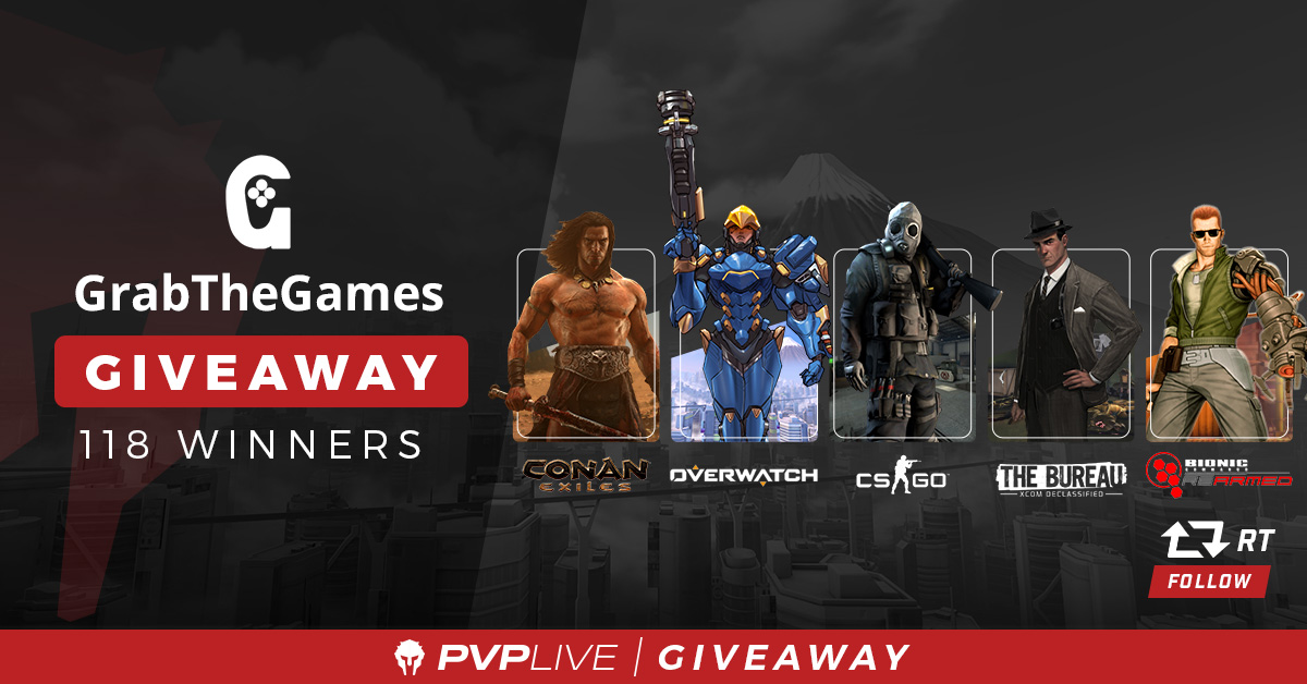Grab Bag Giveaway Powered By Grab The Games