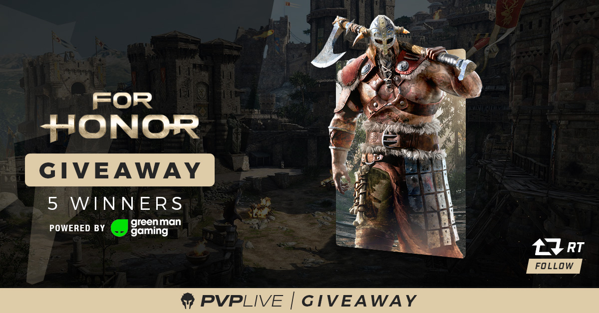For Honor Giveaway Powered By Green Man Gaming