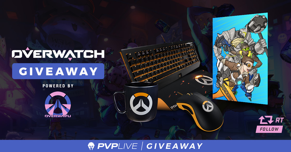Overwatch Giveaway Powered By Overwaifu