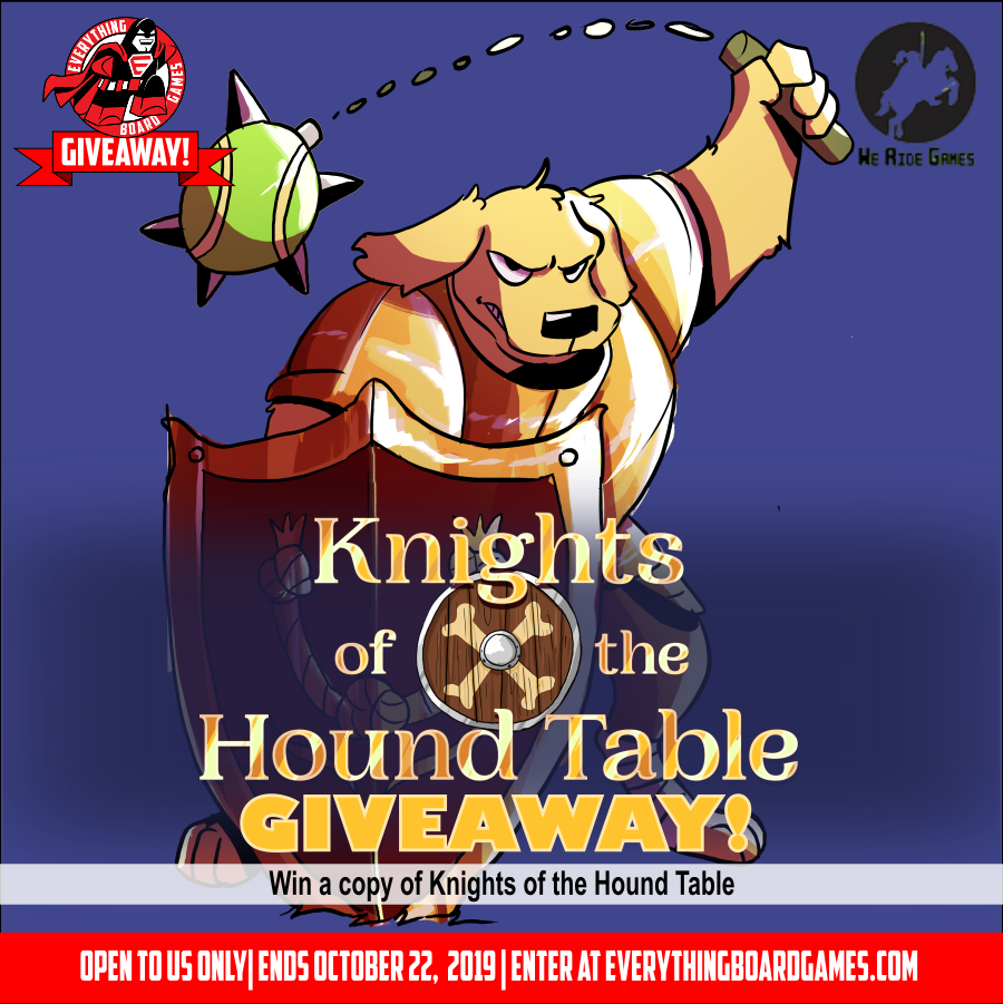 Knights Of The Hound Table Giveaway