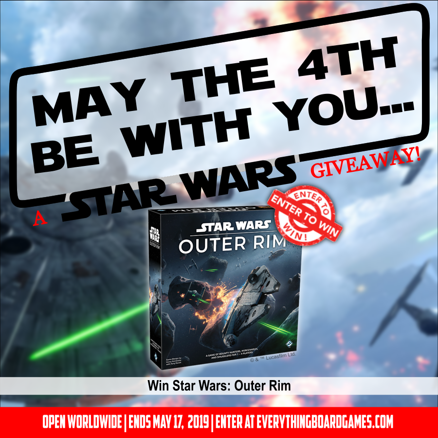 Win board game Star Wars: Outer Rim Giveaway Image
