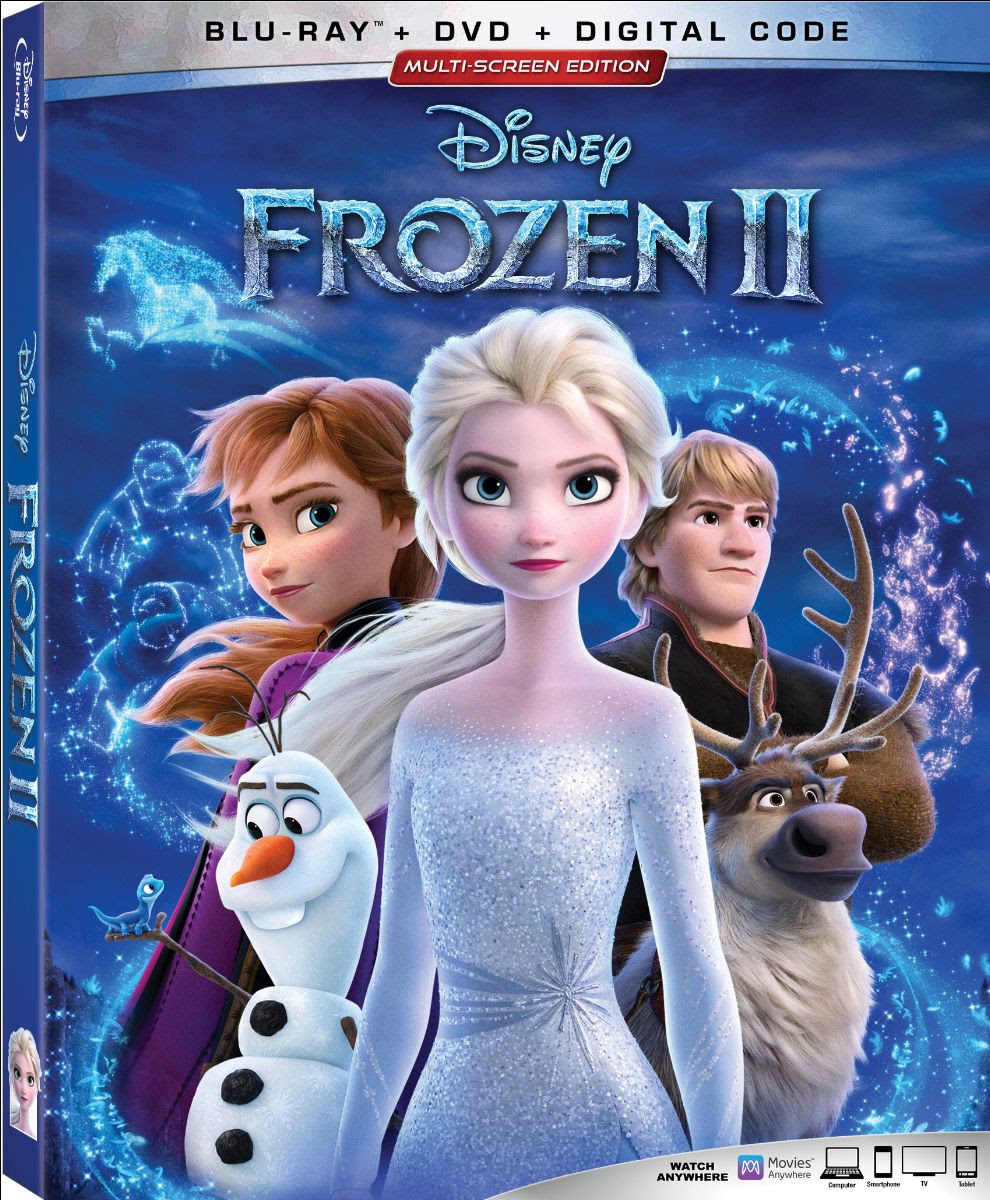 Frozen 2 DVD Giveaway! Giveaway Image