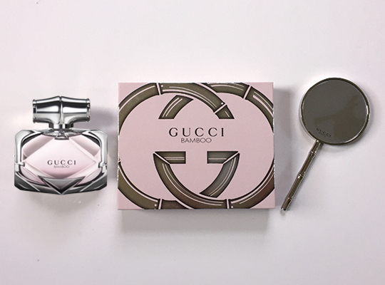 Gucci Bamboo Eau de Parfum and Hand Mirror