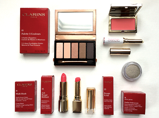 "Clarins ""Instant Glow"" Spring Look"