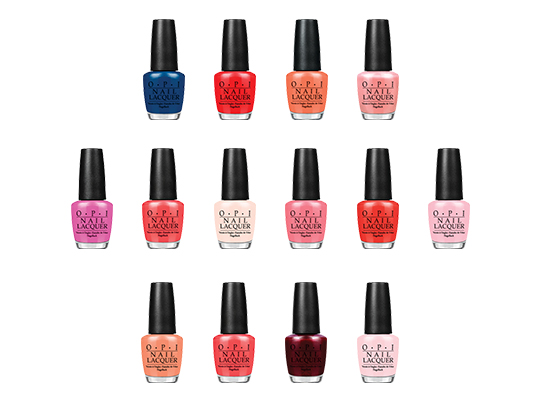 Win The Ultimate OPI Nail Wardrobe!