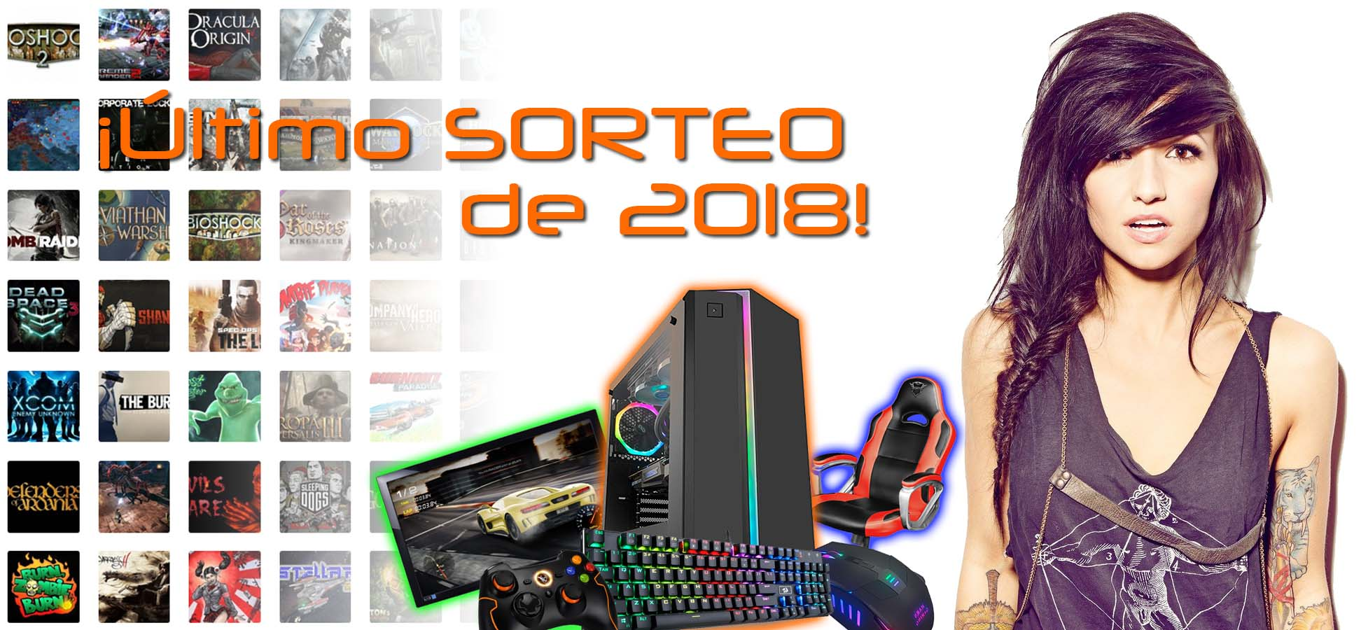 LAST DAYS!! PC Gaming, Gaming Chair and more Giveaway Image
