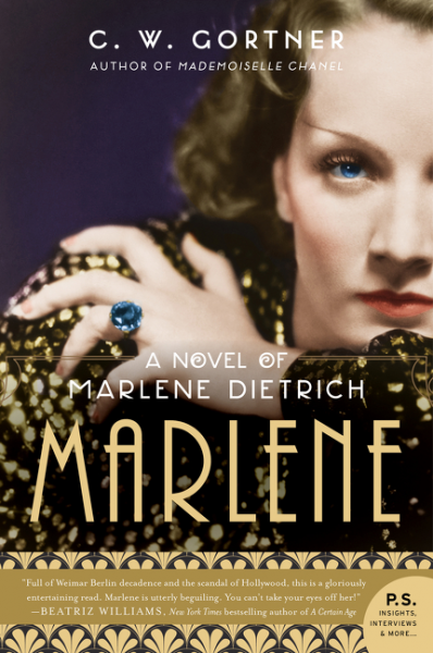 Win a paperback copy of MARLENE by CW Gortner! Two copies up for grabs.