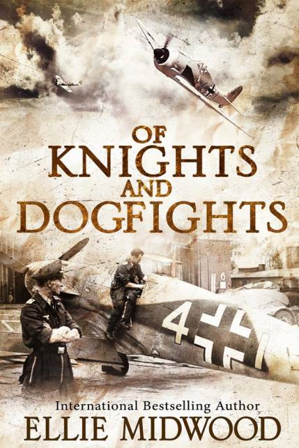 Enter for a chance to win a paperback copy of Of Knights and Dogfights from author Ellie Midwood Giveaway Image