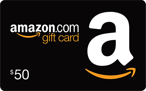 Enter to win a $50 Amazon Gift Card Giveaway Image