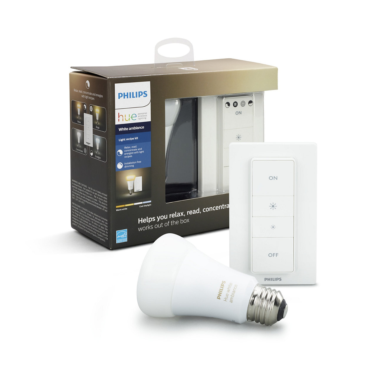 Enter to win 1 of 10 Hue white ambiance light recipe kits Giveaway Image