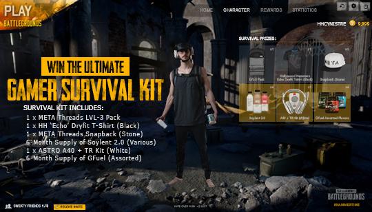 Ultimate Gamer Survival Kit Giveaway