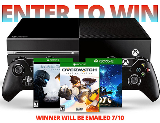 INTO THE AM 1TB Xbox One Bundle Giveaway