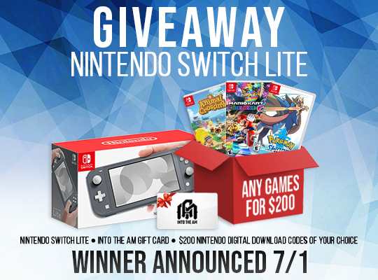 INTO THE AM Nintendo Switch Bundle Giveaway Giveaway Image