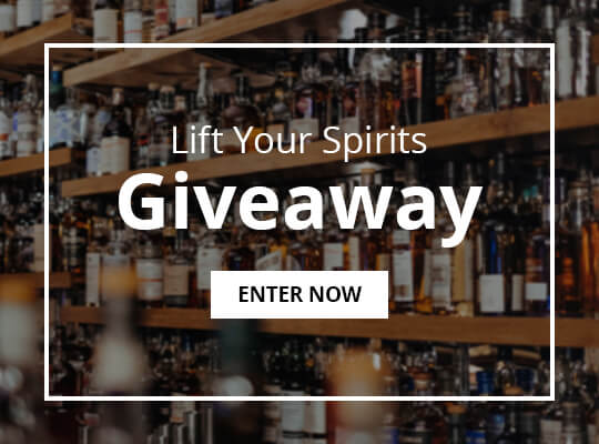 Win a $300 credit for Liquor, a 10-Piece Bar Tool Set and $200 worth of INTO THE AM Gear