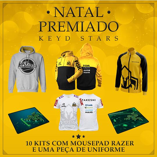Kit de Natal Keyd Stars 2016