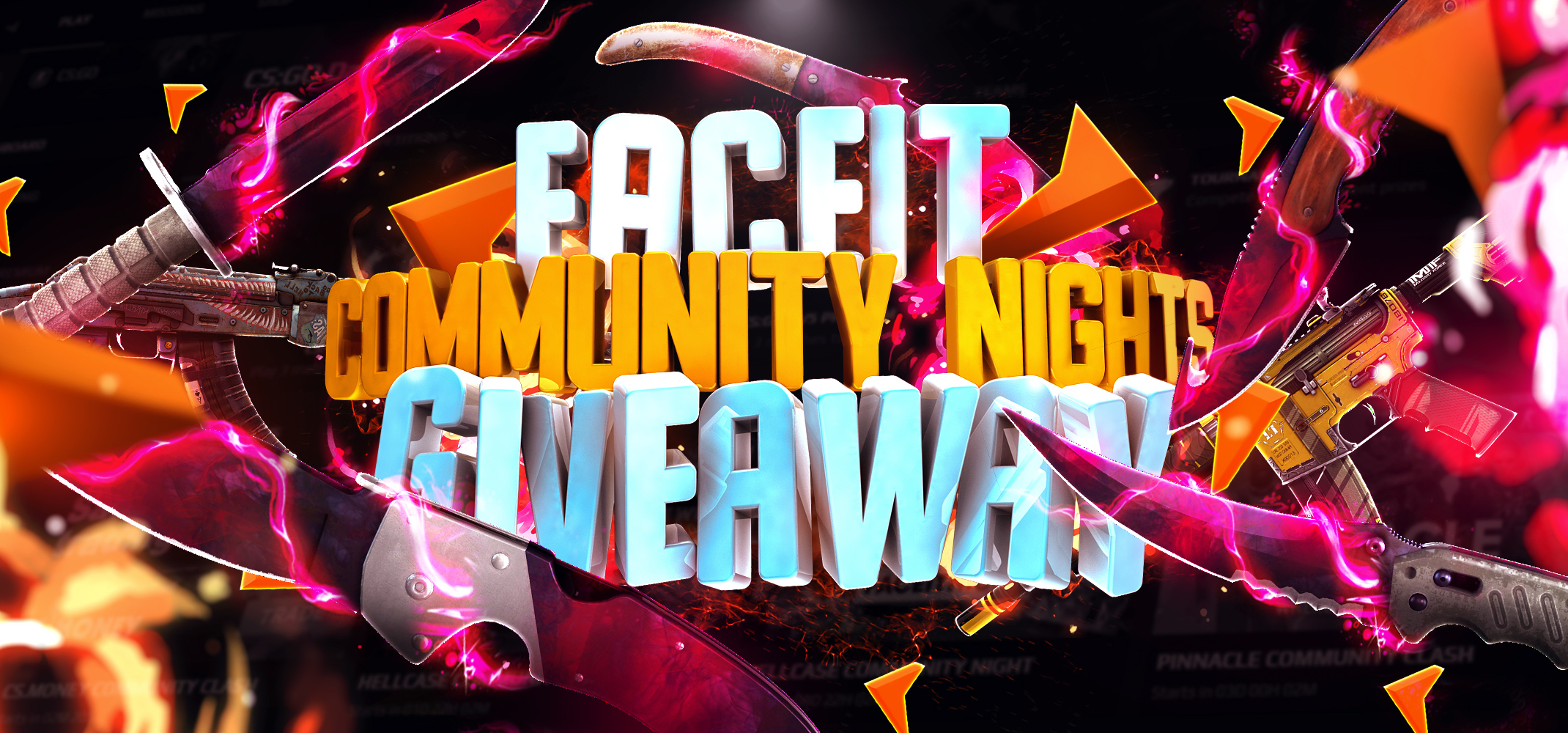 FaceIT Community Nights Giveaway Giveaway Image