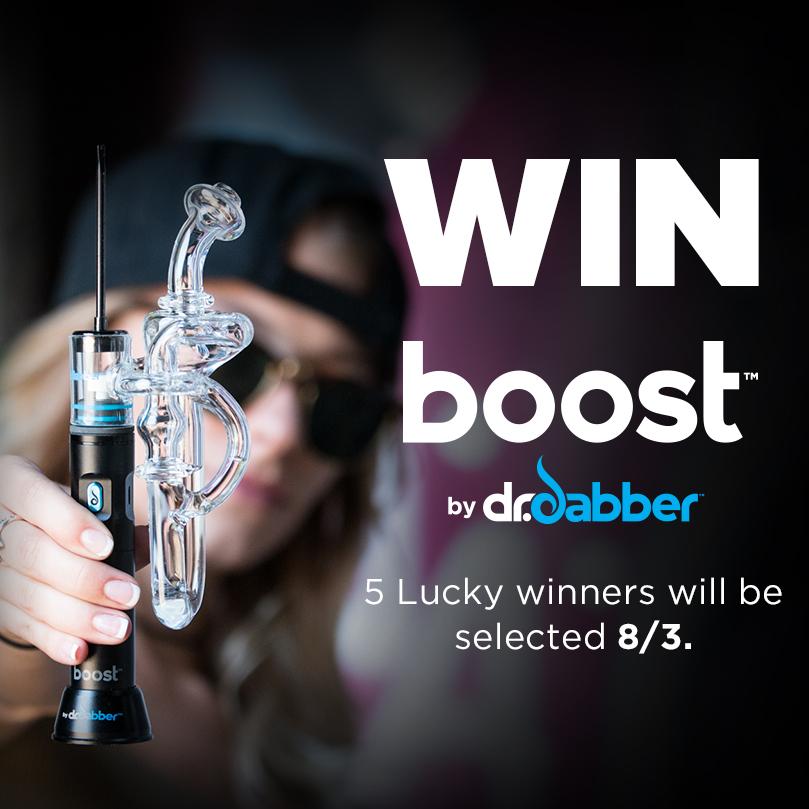Dr. Dabber Boost eRig Giveaway!