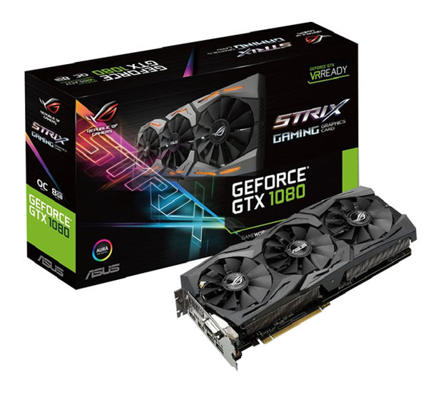 ASUS STRIX GTX 1080 GRAPHICS CARD GIVEAWAY!