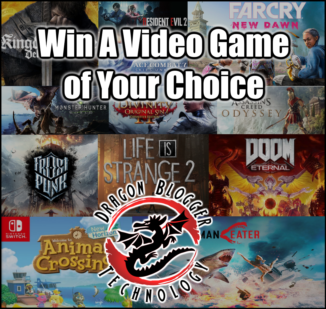 Win a Video Game of Your Choice Giveaway Image