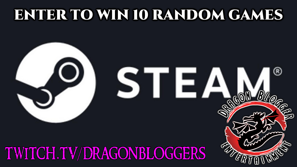 Enter to win 10 Random Steam Game Keys Giveaway Image