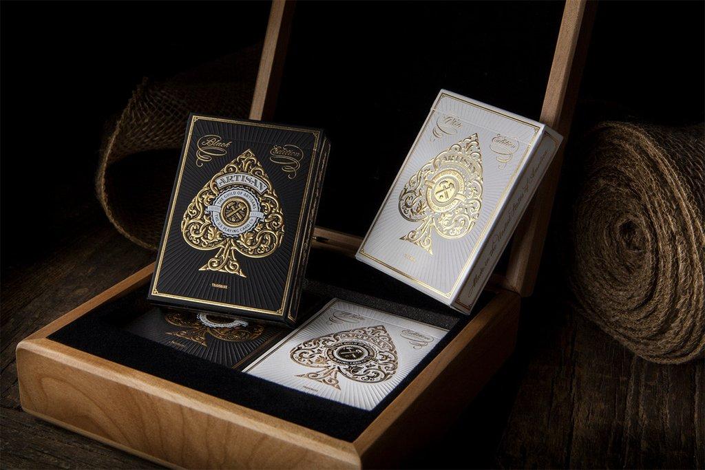 Ganhe cartas de jogar de luxo!