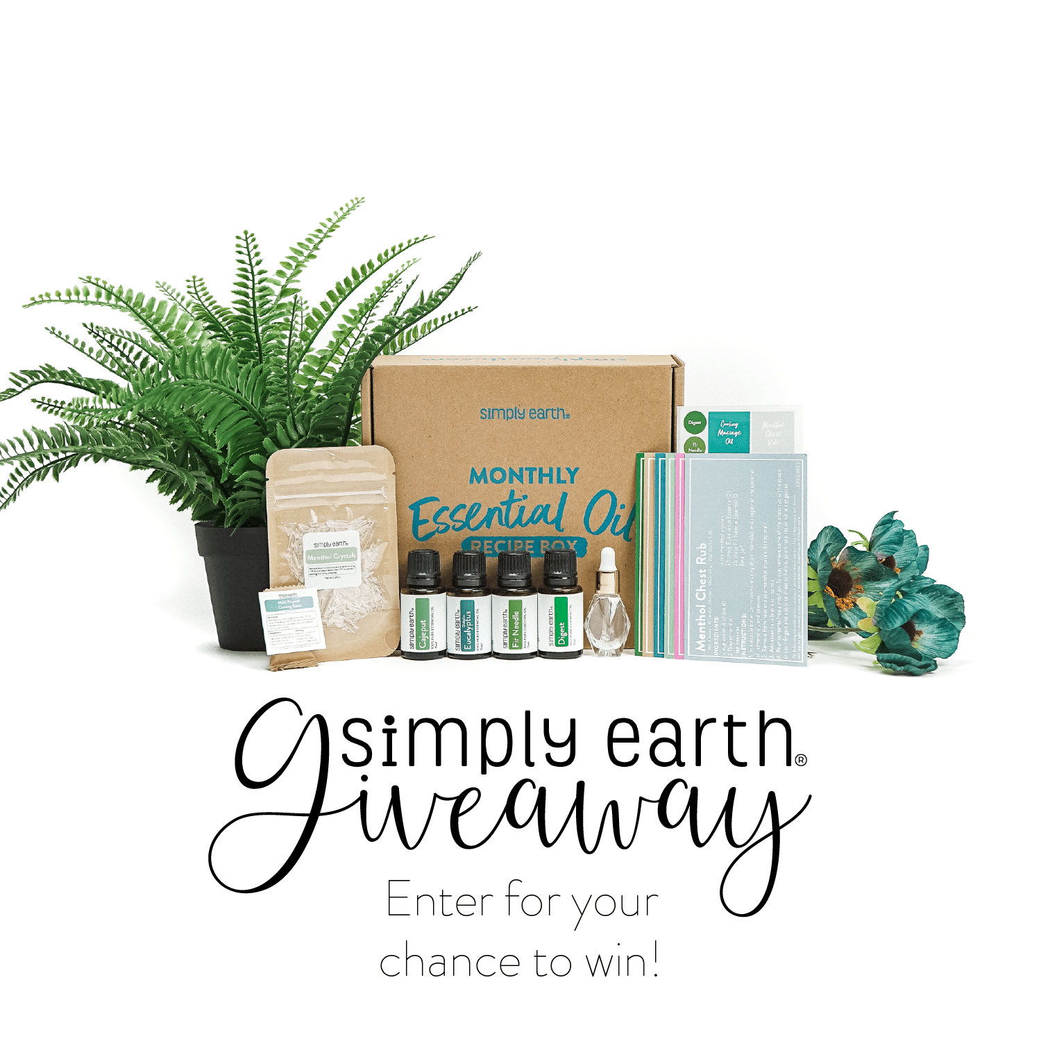 October Essential Oil Recipe Box Giveaway Giveaway Image