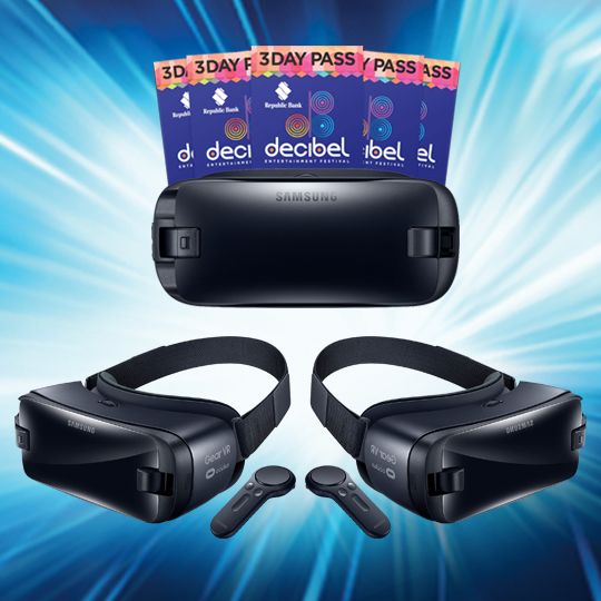 Win a Samsung Gear VR and tickets to the Republic Bank Decibel Entertainment Festival