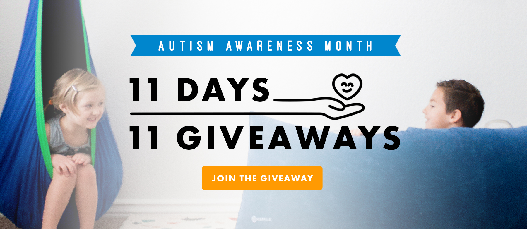 11 Days, 11 Giveaways for Autism Awareness Month Giveaway Image