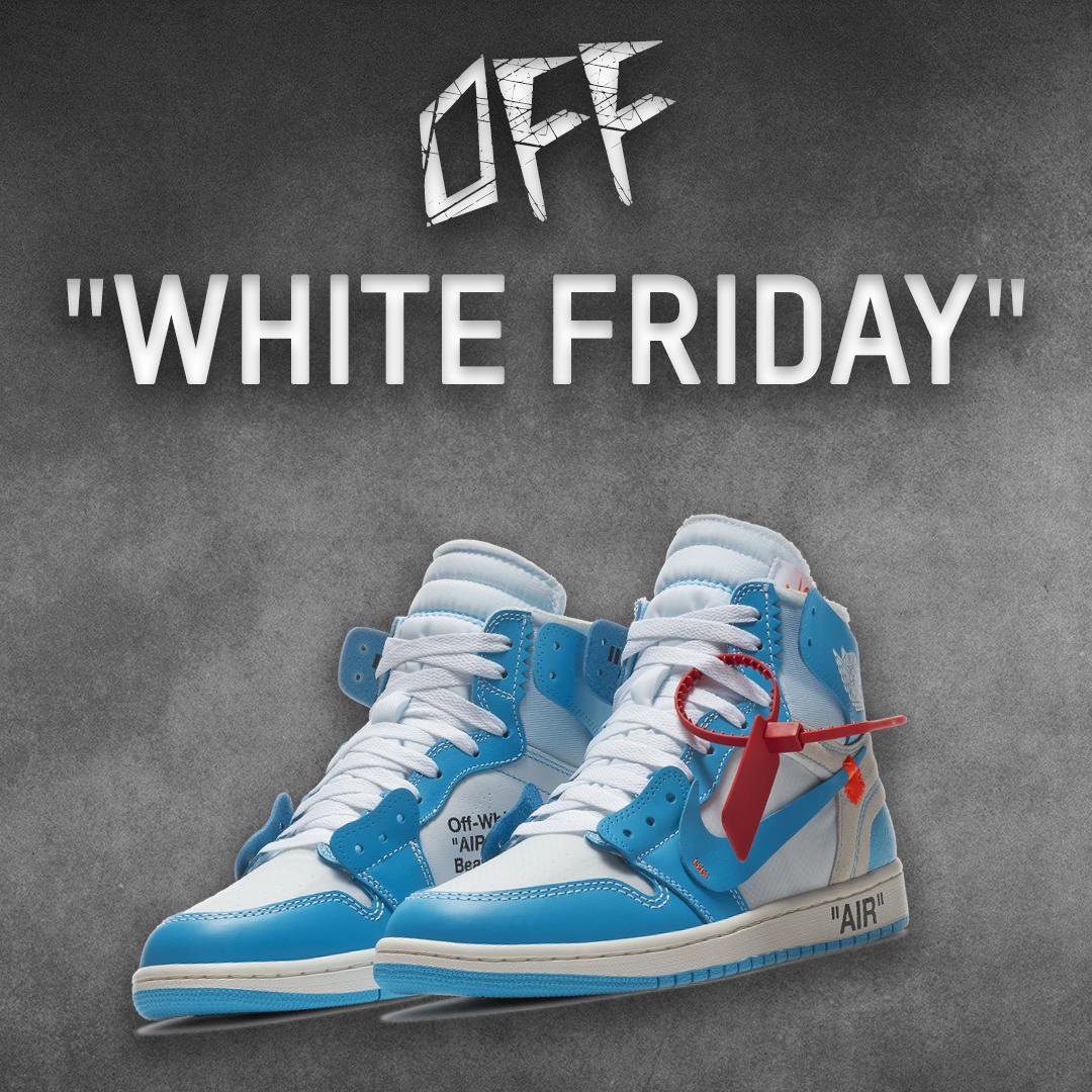 Off-White x Air Jordan 1 UNC Blue Giveaway Giveaway Image