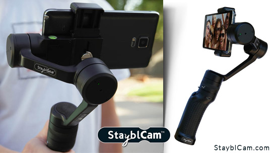 StayblGear 3-Axis Gimbal Smartphone Stabilizer ($350 value)