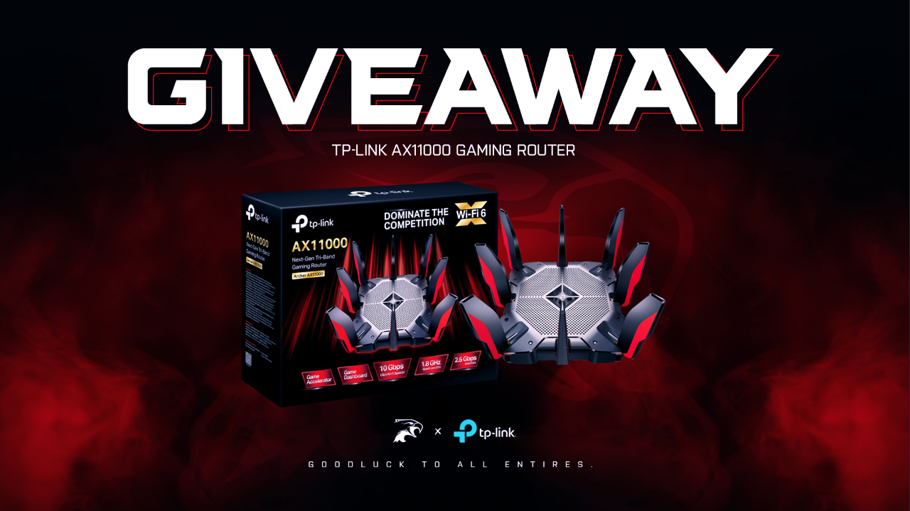 TP-Link x Dark Sided AX11000 Gaming Router Giveaway Giveaway Image