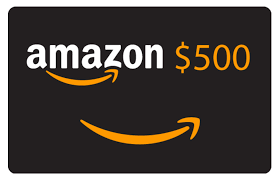WIN 1 of 3 $500 AMAZON GIFT CARDS Giveaway Image