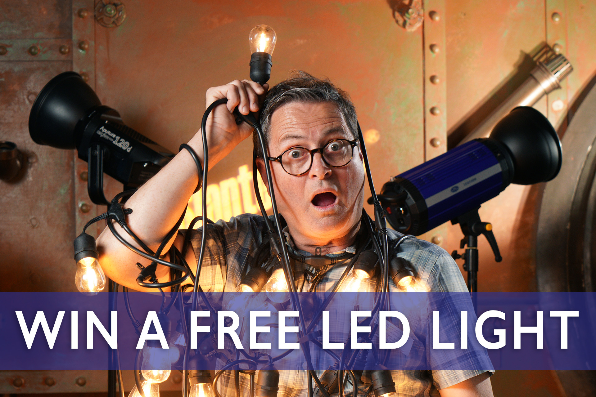 Win an LED lighting kit (ARV $2000+) Giveaway Image