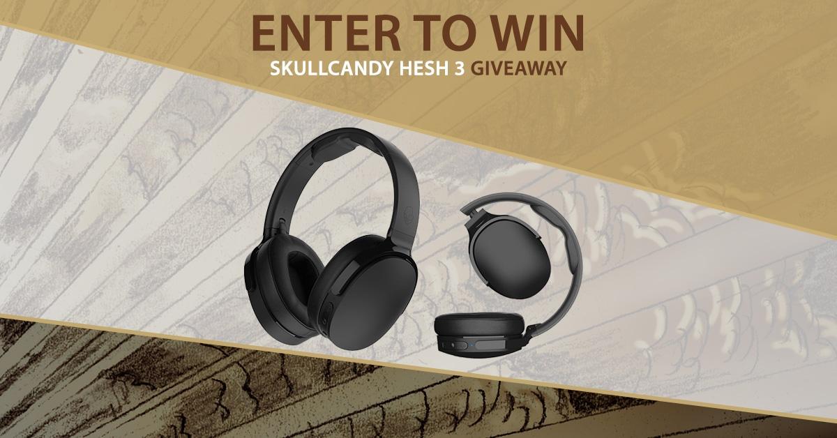 Win Skullcandy Hesh 3 Bluetooth Headphones ($100 Value)   See Rules Giveaway Image
