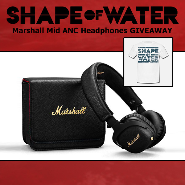 Win Marshall Mid Active Noise-Cancelling Bluetooth Headphones Giveaway Image